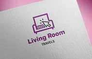 Living Room Travels Logo - Entry #24