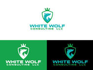 White Wolf Consulting (optional LLC) Logo - Entry #88