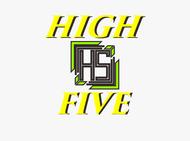 High 5! or High Five! Logo - Entry #40