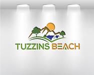 Tuzzins Beach Logo - Entry #317