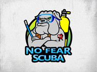 No Fear Scuba Logo - Entry #77