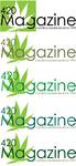 420 Magazine Logo Contest - Entry #71