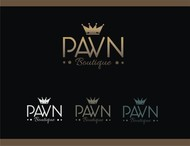 Either Midtown Pawn Boutique or just Pawn Boutique Logo - Entry #79