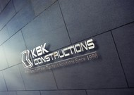 KBK constructions Logo - Entry #83