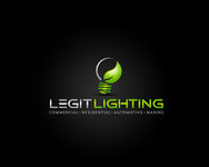 Legit LED or Legit Lighting Logo - Entry #212