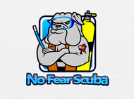 No Fear Scuba Logo - Entry #26