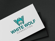 White Wolf Consulting (optional LLC) Logo - Entry #115