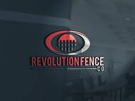Revolution Fence Co. Logo - Entry #345