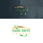 Hard drive garage Logo - Entry #224