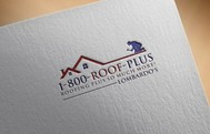 1-800-Roof-Plus Logo - Entry #140