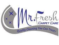 Mr. Fresh Carpet Care Logo - Entry #57