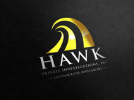 Hawk Private Investigations, Inc. Logo - Entry #48