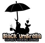 Black umbrella coffee & cocktail lounge Logo - Entry #139