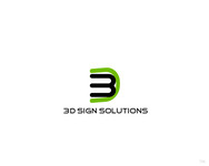 3D Sign Solutions Logo - Entry #151