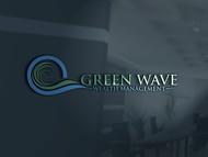 Green Wave Wealth Management Logo - Entry #366