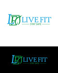 Live Fit Stay Safe Logo - Entry #133