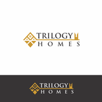 TRILOGY HOMES Logo - Entry #105