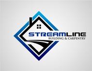 STREAMLINE building & carpentry Logo - Entry #75