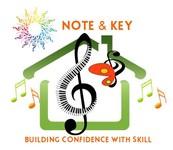 Note & Key Logo - Entry #43