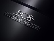 Elite Construction Services or ECS Logo - Entry #134