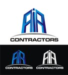 AIA CONTRACTORS Logo - Entry #102