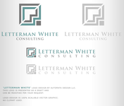 Letterman White Consulting Logo - Entry #82