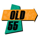 """""""OLD 55"""" - mid-century vintage furniture and wares store Logo - Entry #49"""