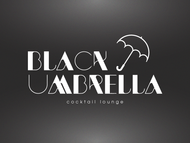Black umbrella coffee & cocktail lounge Logo - Entry #172