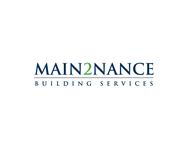 MAIN2NANCE BUILDING SERVICES Logo - Entry #288