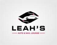 Leah's auto & nail lounge Logo - Entry #173