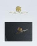 Golden Oak Wealth Management Logo - Entry #15