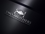 Two Brothers Roadhouse Logo - Entry #34