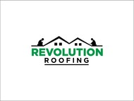 Revolution Roofing Logo - Entry #505