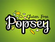 gluten free popsey  Logo - Entry #120