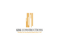 KBK constructions Logo - Entry #39