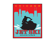 Chicago Jet Ski Adventures Logo - Entry #68