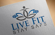 Live Fit Stay Safe Logo - Entry #47