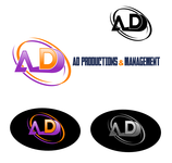 Corporate Logo Design 'AD Productions & Management' - Entry #125