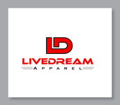 LiveDream Apparel Logo - Entry #66