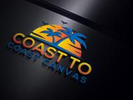coast to coast canvas Logo - Entry #39