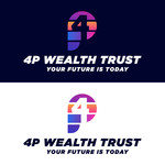 4P Wealth Trust Logo - Entry #186