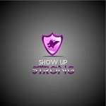 SHOW UP STRONG  Logo - Entry #42