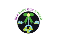 Logo for our Baby product store - Our Baby Our World - Entry #17