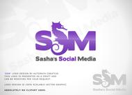 Sasha's Social Media Logo - Entry #41