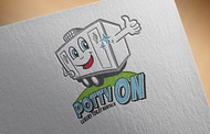 Potty On Luxury Toilet Rentals Logo - Entry #14