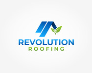 Revolution Roofing Logo - Entry #556