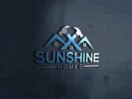 Sunshine Homes Logo - Entry #490