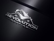 Revolution Roofing Logo - Entry #236