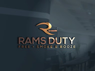 Rams Duty Free + Smoke & Booze Logo - Entry #211