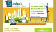 Sasha's Social Media Logo - Entry #180
